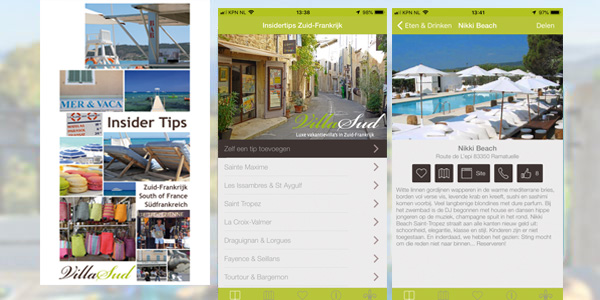 Mobile Southern France app now also available for Android users.